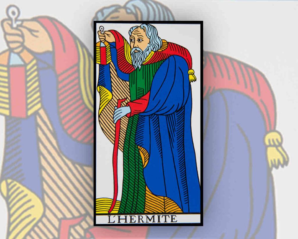 Passion-Tarot-arcanes-majeurs-hermite-interpretation